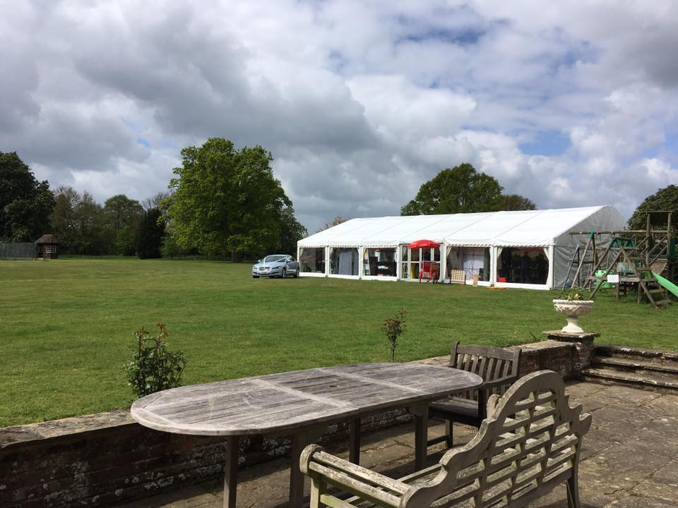 Marquee hire is available for your wedding or reception